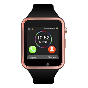 Amazon.com: Reloj inteligente Bluetooth DZ09, reloj ...