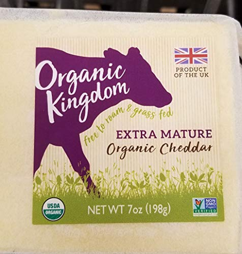 Organic Kingdom Extra Mature Organic Cheddar 7oz ()