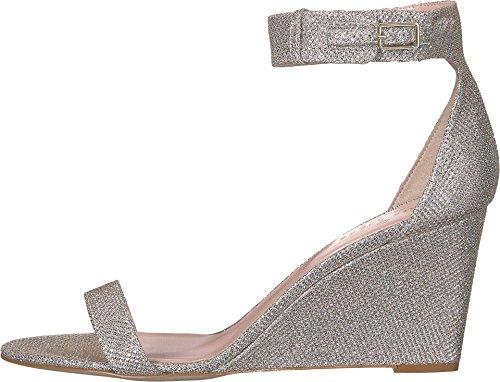 Kate Spade New York Kvinders Ronja Kile Sandal Sølv / Naturlige Gitter Lurex AE3fRoGt4l