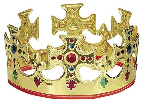 Adjustable Plastic King Crown
