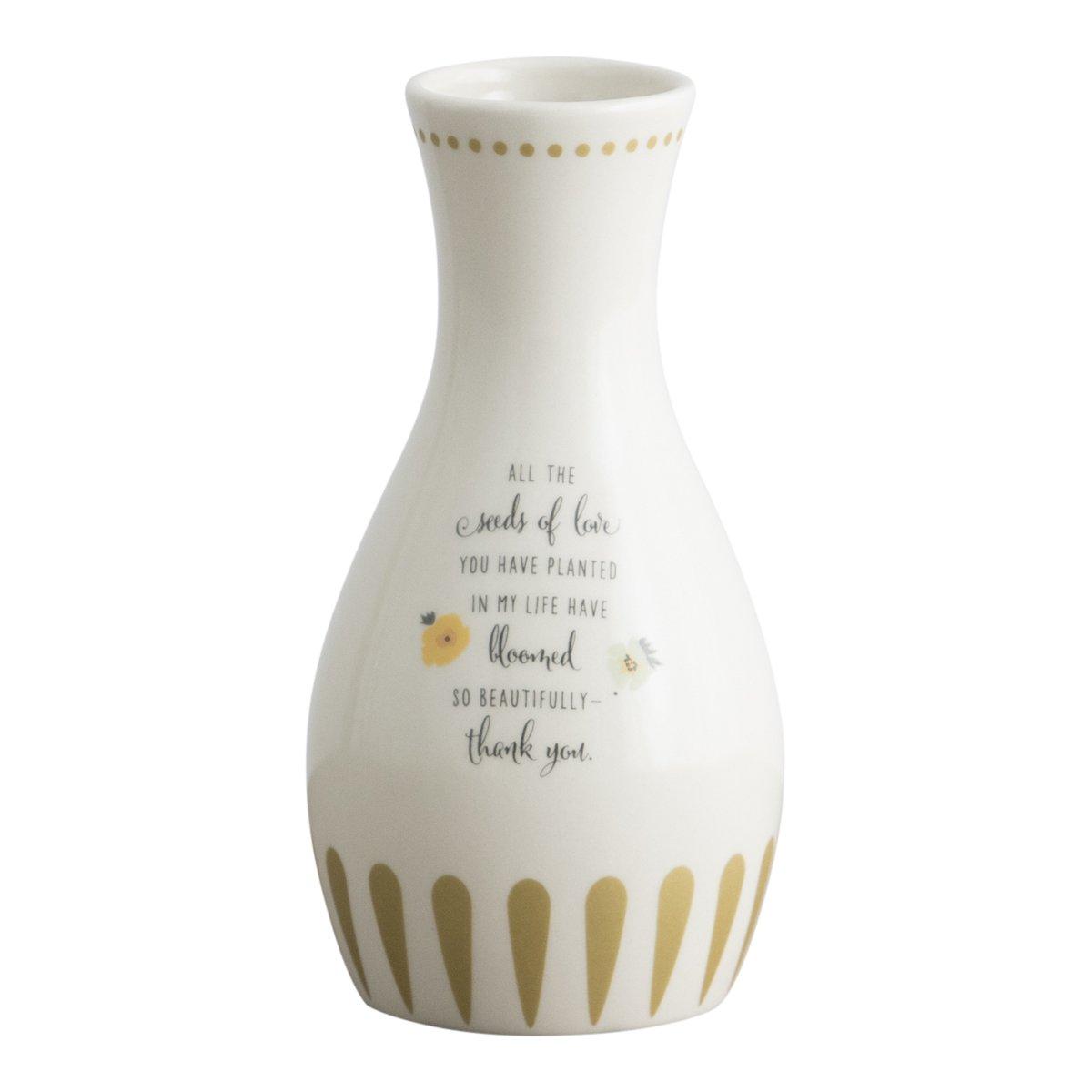 Dayspring Seeds of Love - Ceramic Bud Vase by Dayspring
