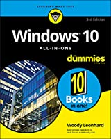 Windows 10 All-In-One For Dummies, 3rd Edition Front Cover