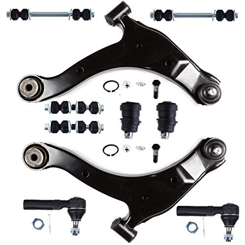 OCPTY - New 10-Piece fit for Dodge Neon 2.0L SX 2.0 Plymouth Neon - 2 Front Lower Ball Joint 2 Left Right Lower Control Arm and Ball Joint 2 Front 2 Rear Stabilizer Bar 2 Outer Tie Rod End