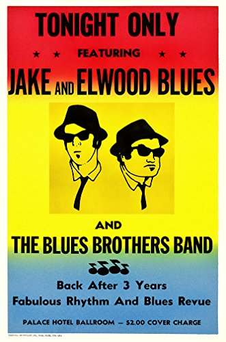 The Blues Brothers In Concert Poster - Size 11