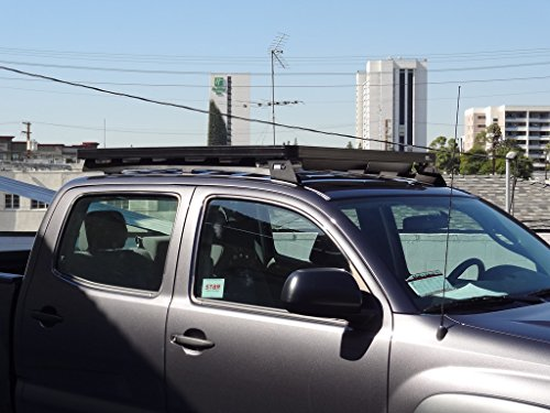 Toyota Tacoma Double Cab Roof Rack / Full Size Aluminum ...