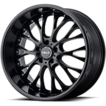 "Helo HE890 Satin Black Wheel (20x10""/5x120mm, +40mm offset)"