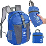 bago 25L Packable Lightweight Backpack - Water Resistant Travel and Hiking Daypack (25-Liter, DBlue)