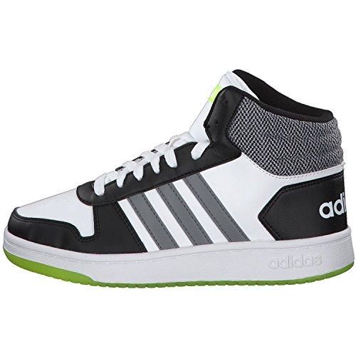 0 Hoops 2 adidas Adulte Mid Gritre Negbas Blanc Fitness 000 Chaussures K Mixte de Ftwbla dtqdBHUnx