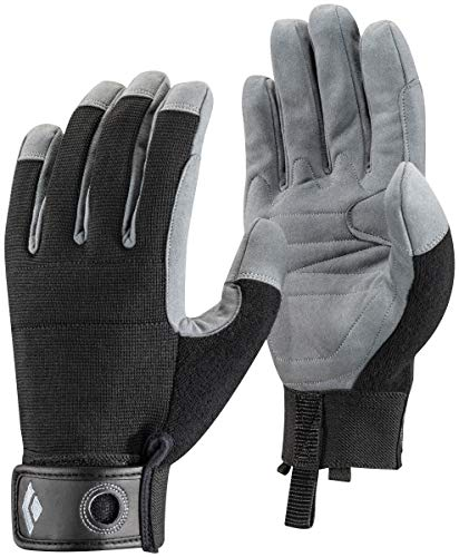 - Black Diamond Crag Climbing Gloves, Black, Medium
