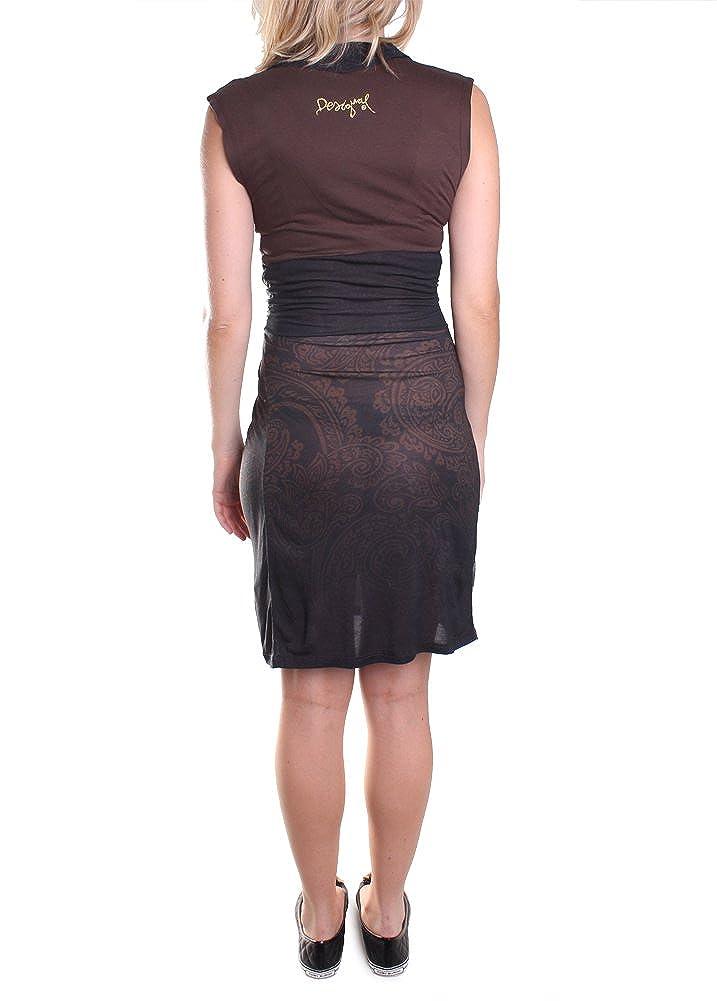 790f51bd49e52 Robe Desigual Lactica Nc Couleur Marron Taille Xl  Amazon.fr  Vêtements et  accessoires