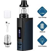 Cigarrillos electrónicos,YumaPuff Armor 100w, E Cigs, Batería recargable de 2000 mah, Enorme Kit de Vape con pantalla,Sin Nicotina y Sin E-líquido