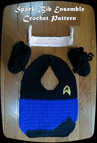 Ensemble Crochet Pattern - Spock Inspired Bib Ensemble Crochet Pattern