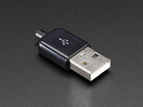 Adafruit USB DIY Slim Connector Shell - A-M Plug [ADA1827]