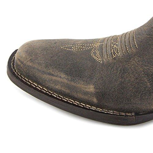 FB Boots Catcher Westernstiefel Damenstiefel DRD0212 Damen Fashion Boots Braun Dream Cowboystiefel Americana Durango w5UwBXx