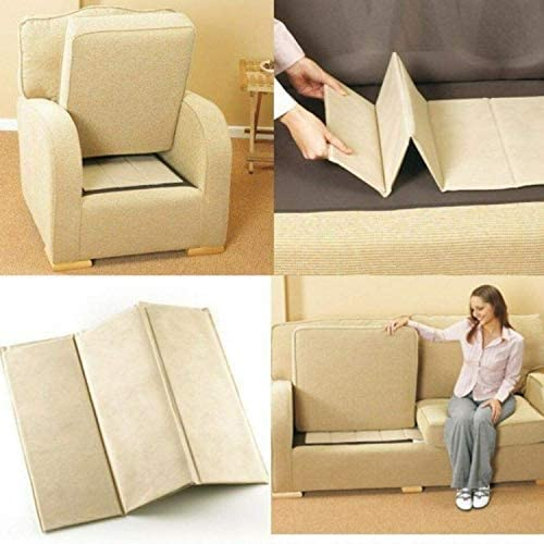 TheWhiteWater Sofa Support Boards Seat Rejuvenator Strong Board 1-2-3 Sagging Seat Support Settee Soggy Seat Cushion Fixer | Upholstery Sofa Seat Protector Super Solid