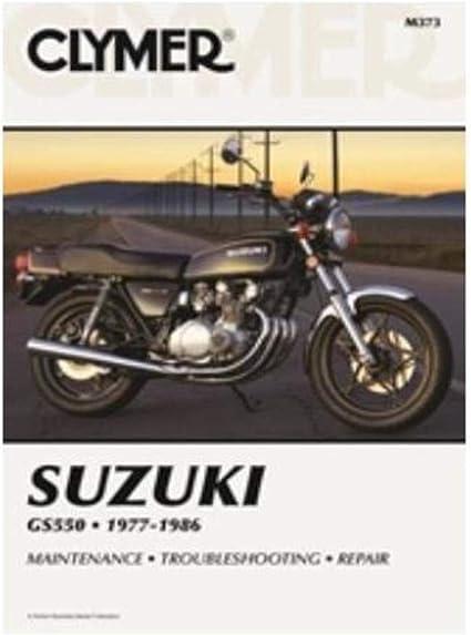 [SCHEMATICS_4ER]  Amazon.com: Clymer Repair Manual for Suzuki GS550 GS-550 77-86: Automotive   Wiring Diagram For A 1977 Suzuki 550      Amazon.com