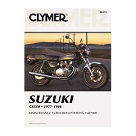 amazon com clymer repair manual for suzuki gs550 gs 550 77 86