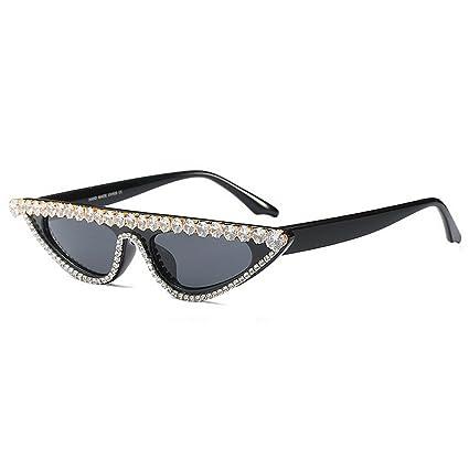 Pequeño triángulo Personalidad Ojos de Gato Gafas de Sol de ...