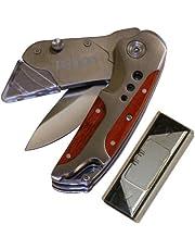 Rolson Tools 62852 2-in-1 Tradesman Knife