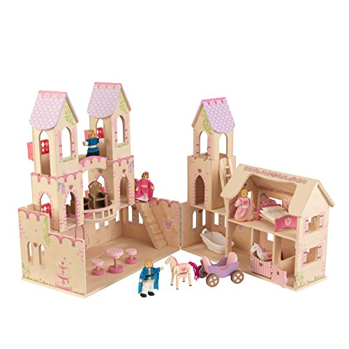 Wooden Castle Playset - 6