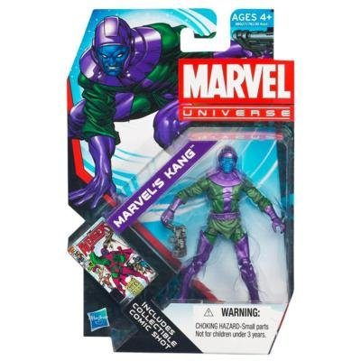 Free Marvel Universe Series 4 Action Figure #015 Kang 3.75 Inch