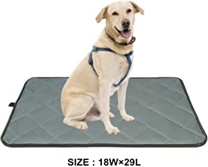 Voluka Dog Crate Bed Mat - Washable Kennel Pad, Anti - Slip Dog Crate Pad is Perfect for Dog Bed,Crate and Kennel
