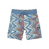 Volcom Little Boys' Lo Fi 13.5'' Boardshort, Sunburst, 7X