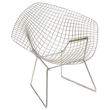 Diamond Chair Harry Bertoia Knoll International Lounge Sessel