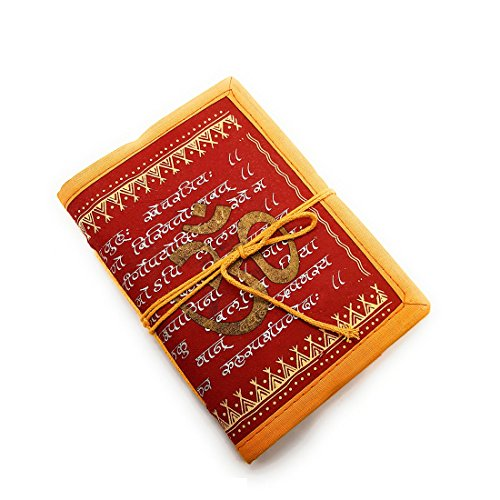 Jaipur Nagri Handmade diary journal writing notebook Daily note pad for men & girls size 7 x 5 inches, Paper Cover, Best Gift, handmade sheet by Jaipur Nagri