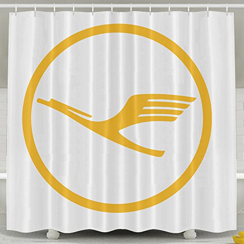 lufthansa-bathroom-shower-curtain-shower-curtain-liner-7272inch