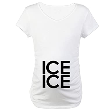 d1c5a40da3915 CafePress ICE ICE (Baby) Maternity T-Shirt Maternity Tee at Amazon ...
