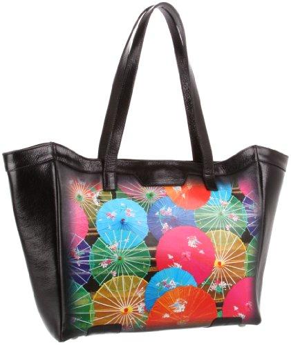 Icon Handbags Dena-114 Tote,Summer Parasols,One Size, Bags Central