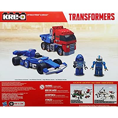 Kre-O Transformers Optimus Prime & Mirage 209 Pieces: Toys & Games