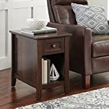 Indoor Parker Recliner Sofa Side Table, Estate Toffee Finish