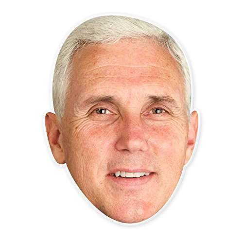Troll Face Meme Costume (Cool Mike Pence Mask - Perfect for Halloween, Masquerade, Parties, Events, Festivals, Concerts - Jumbo Size Waterproof)