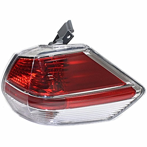 FITS 14-16 NISSAN ROGUE RIGHT PASSENGER TAIL LAMP ASSEMBLY QUARTER MOUNTED