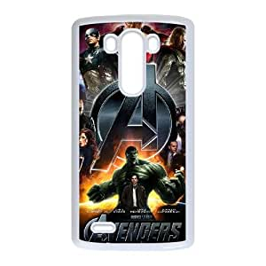 LG G3 White The Avengers Logo phone cases protectivefashion cell phone cases HYQT5763801