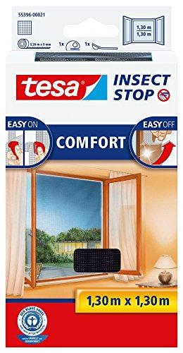 tesa 55396-00021-00 tesa Fliegengitter Comfort f?r Fenster anthrazit by tesa UK
