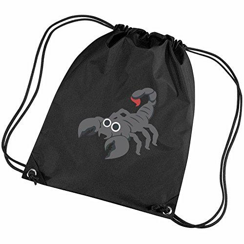 076cf234353543 Scorpion Emoji Gym Gym Bag Scorpion Bag Scorpion Gym Emoji Black Black  Emoji rxBQCodWe