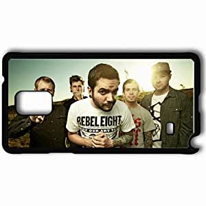 Personalized Samsung Note 4 Cell phone Case/Cover Skin A Day To Remember Sky Sun Tattoo T Shirts Black