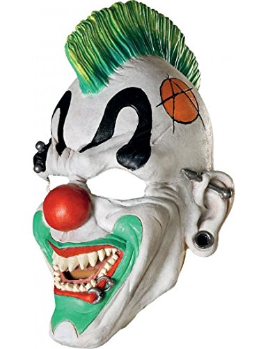 Punk'd Clown Mask Costume Accessory - Clown Masks For Kids