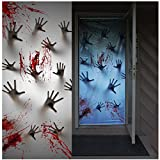 30 by 72 Inches. Larger than Other Brands. Fit Better to Most American Family Doors.  Unique Spooky Design. Impressive Halloween Indoor Outdoor Door Cover Poster Decoration.  Work Even Better as Window Covers or Glass Door Covers with Back Li...