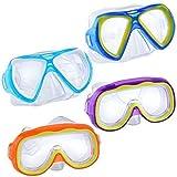 """Safety First"" Splash-N-Swim Child-Sized Swim Masks Goggles Assortment! (Set of 4)"