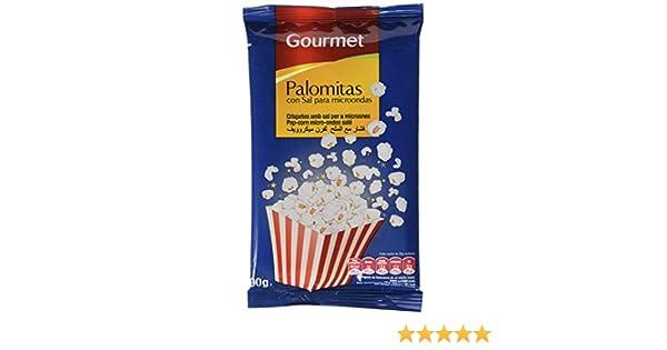 Gourmet - Palomitas con sal para microondas - 100 g - [Pack de 15]