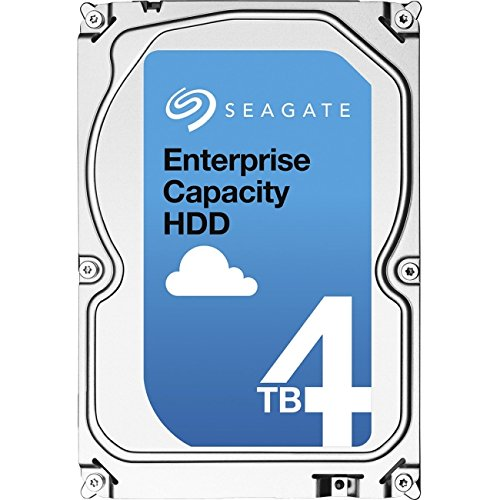 Seagate HDD ST4000NM0035 4TB SATA III 6Gb/s Enterprise 7200RPM 128MB 3.5 inch 512n Bare by Seagate