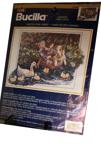 Plaid Bucilla Counted Cross Stitch Kit - Sailing Along Featu