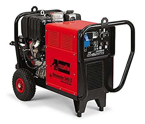 TELWIN TE-815980 - Soldador a gasolina Motoinverter 264d ce lombardini: Amazon.es: Bricolaje y herramientas