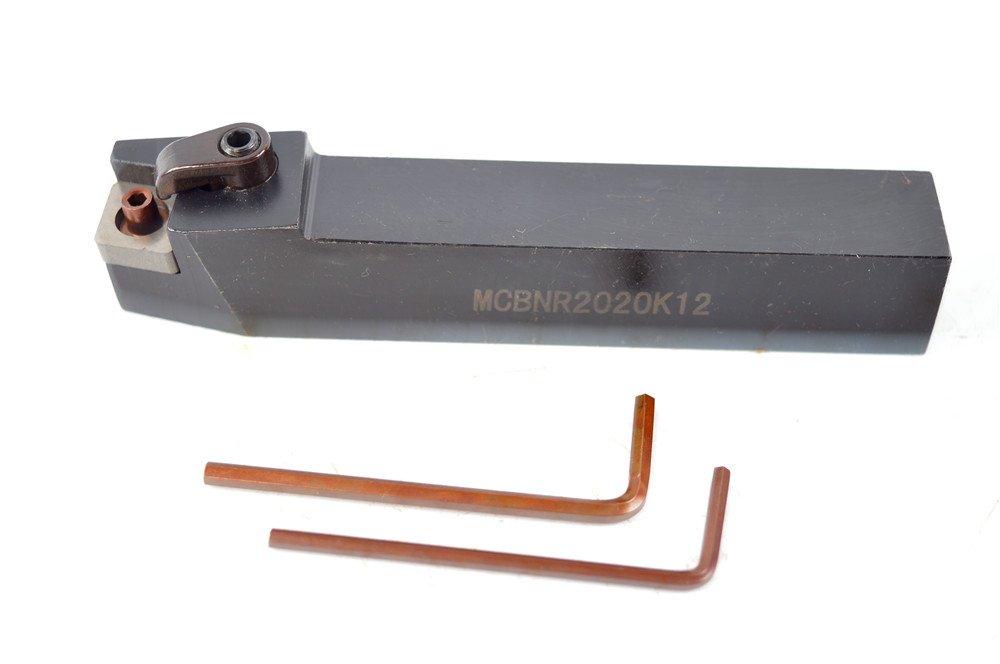 1PCS MCBNR 2020K12 75 Degrees Alloy Steel CNC Lathe Excircle Turning Tool Holder Boring Bar for CNMG1204, Holder Width 20 mm, Overall Length 125 mm, 2020 MCBNR Holder XUZHOU BAIYI Metal Technology Co. Ltd.