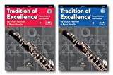 Tradition of Excellence with DVD for Oboe - Two Book Set - Includes Book 1 and Book 2
