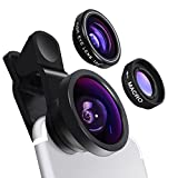 Yarrashop Universal Camera Phone Lens Clip on 0.4X Super Wide Angle Lens